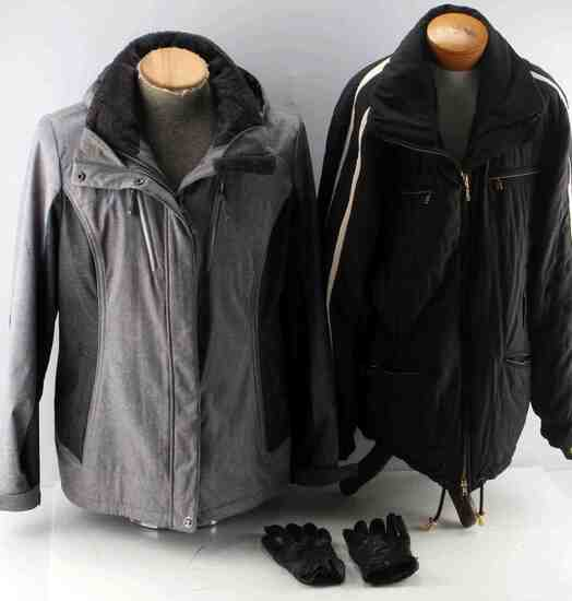 LOT OF 2 PREOWNED JACKETS GERRY & BOGNER ACTIVE