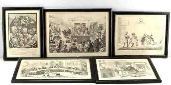 STARCKE AND CRUISHANK 18TH &19TH CENTURY ETCHING