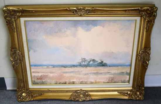 WAKULLA FLORIDA LANDSCAPE PAINTING BY ANDERSON