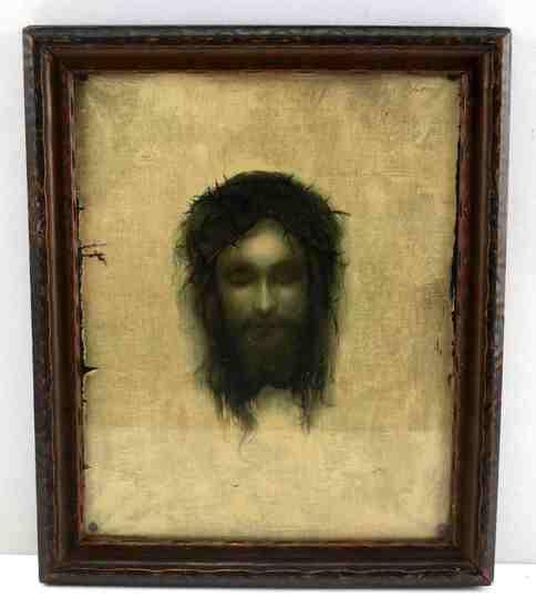 VINTAGE JESUS CHRISTUS CATHOLIC PRINT