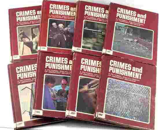 CRIME & PUNISHMENT VOL. 12 TO 20 BOOK LOT