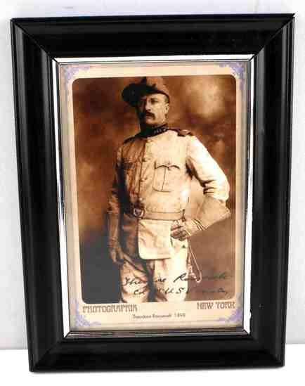 PRESIDENT THEODORE ROOSEVELT PHOTO POST CARD