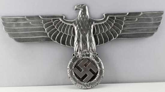 WWII GERMAN THIRD REICH RAILROAD BOX CAR EAGLE