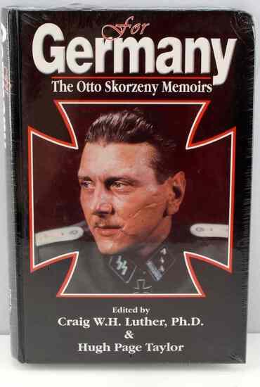 WWII FOR GERMANY WAFFEN SS OTTO SKORZENY MEMOIRS