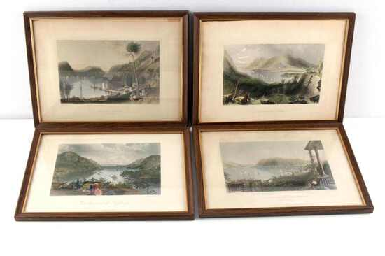 HUDSON RIVER VALLEY ANTIQUE STEEL ENGRAVINGS