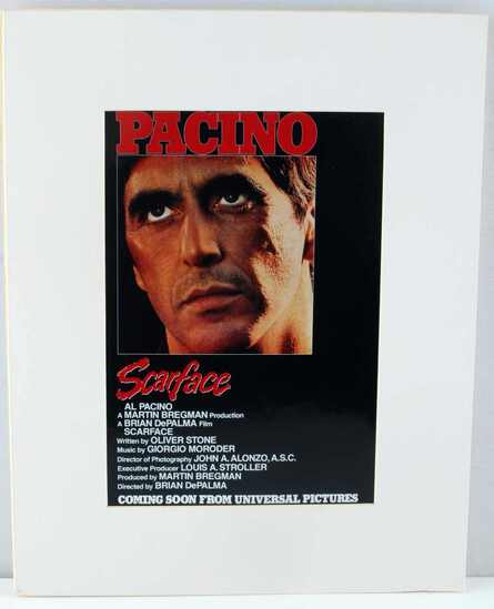 AL PACINO SCARFACE MOVIE ADVERTISING POSTER 11X14