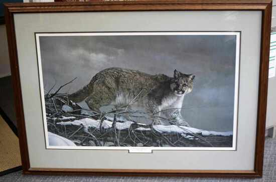 CHARLES FRACE SIGNED WILDLIFE ART LE LITHOGRAPH
