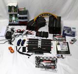 26 PIECE CARRERA SLOT CAR WITH PORSCHE FORD SHELBY