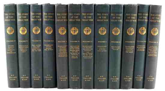 THE STORY OF THE GREAT WAR 1ST ED 12 VOL FULL SET
