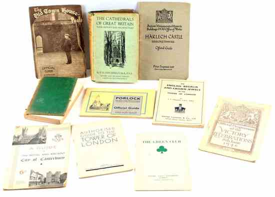 10 VINTAGE ENGLISH CATHEDRAL & CULTURAL BOOK LOT