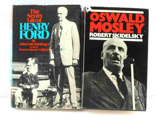 ASSORTED FIRST EDITION BIOGRAPHICAL BOOK LOT