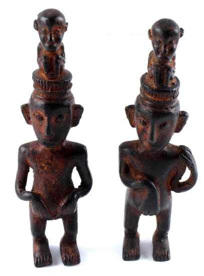 DOGON MALI WEST AFRICAN IVORY COAST BRONZE FIGURES