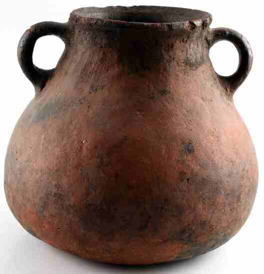 ANTIQUE NATIVE AMERICAN MISSISSIPPIAN CLAY POT