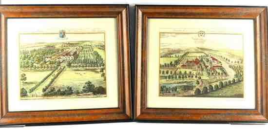 LOT 2 JOHANNES KIP BRITISH GENTRY ETCHING PRINTS