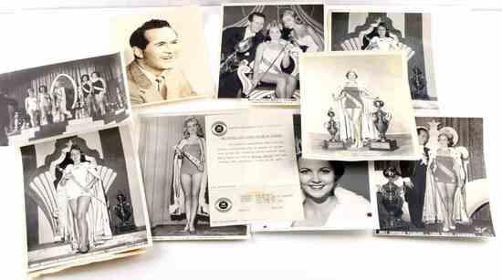 1953 MISS UNIVERSE BEAUTY PAGEANT PRESS PHOTO LOT