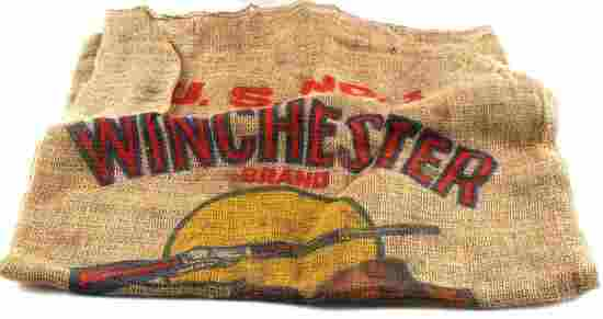 ANTIQUE WINCHESTER PREMIUM PATATOES POTATOE BAG