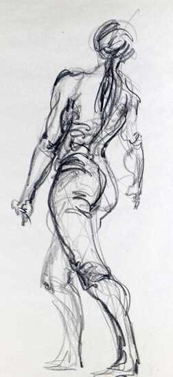 BEN SMITH ART SKETCH PAD FIGURAL STUDIES IN PENCIL