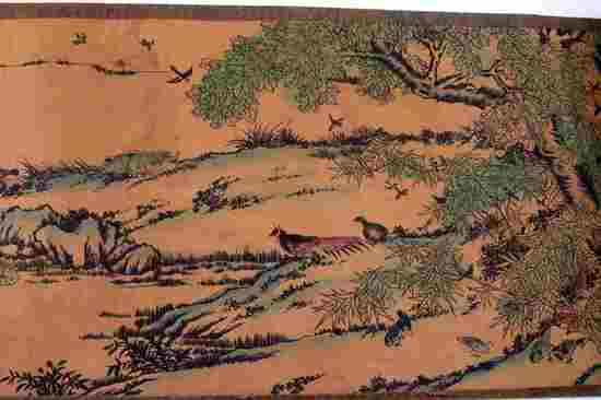 MING DYNASTY CHINESE HANDSCROLL HUNDREDS OF BIRDS