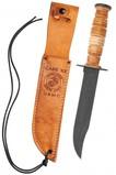 CASE KNIFE USMC LEATHER HUNTER MARINA W SHEATH