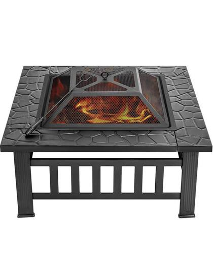 GRAND PATIO SQUARE TABLE FIRE PIT