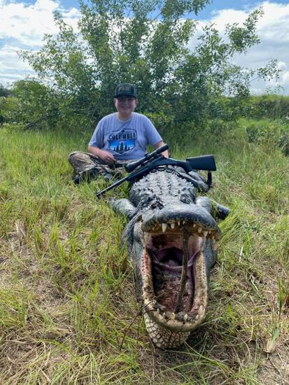 Getting Grubb Outfitters Gator/Pig Hunt