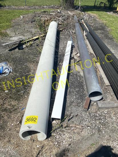 (2) PVC PIPES