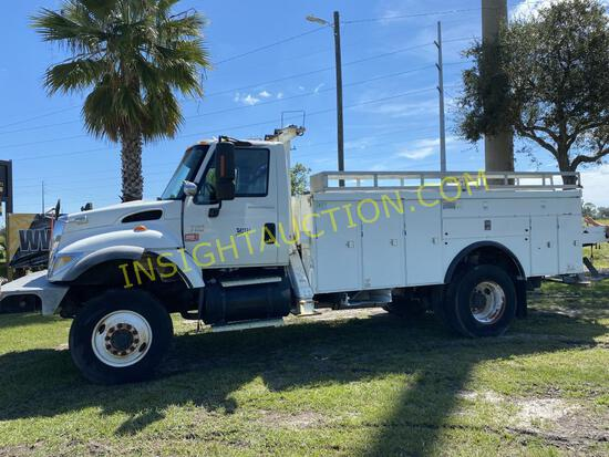 2004 International 7300 Utility Truck W/t R/k