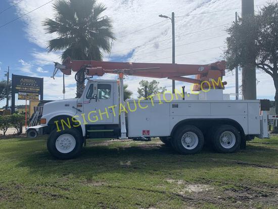 1997 International 4900 Digger Truck W/T R/K