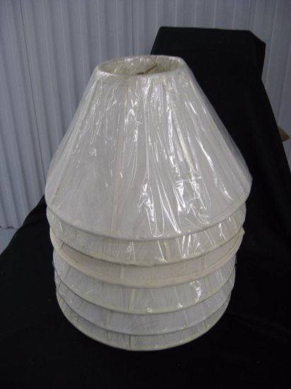 6 lamp shades item 244-249