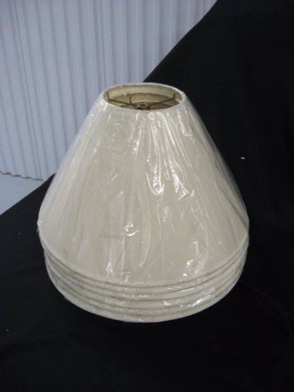 6 lamp shades item 250-255