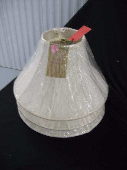 3 lamp shades item 256-258
