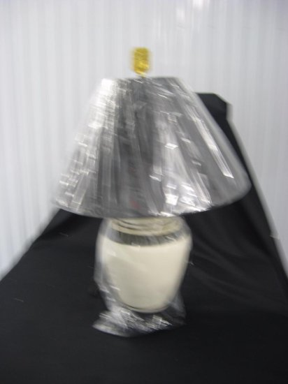 Porcelain lamp with shade item 260