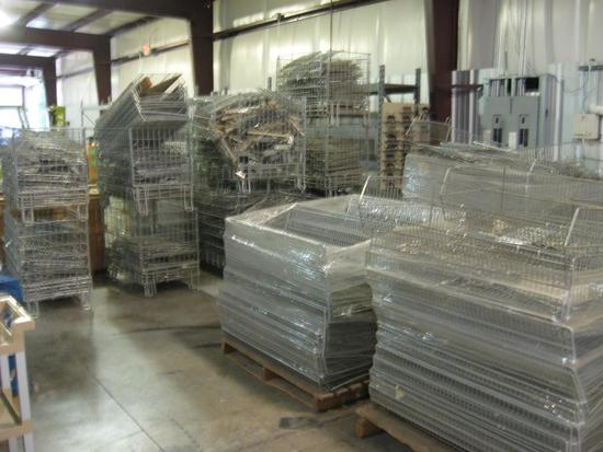 Wire Baskets-8 pallets