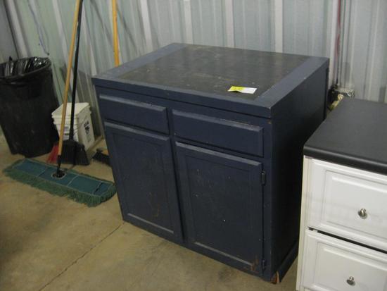 "Display cabinet-36"" x 25"" x 37"""