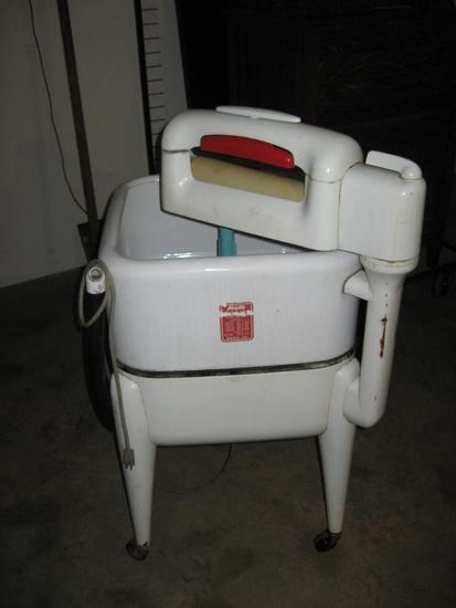 Maytag vintage roller washing machine