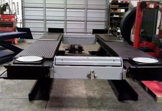FMC Omer Alignment Lift-11,000 lbs.-Parallelogram=16' long x 7 ft.