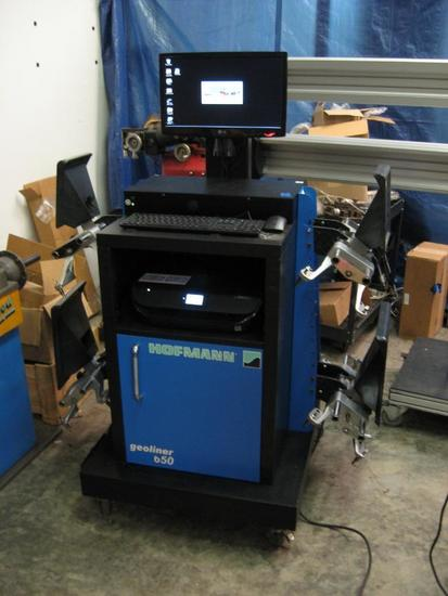 Hofmann Geoliner 650-Newer model than others-4 wheel computer alignment machine-3D