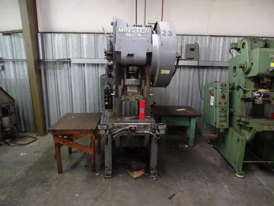 Minster No. 4 Punch Press, 30 ton