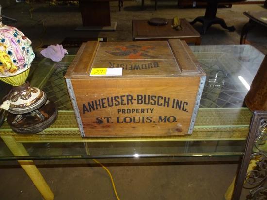 Anheuser-Busch crate