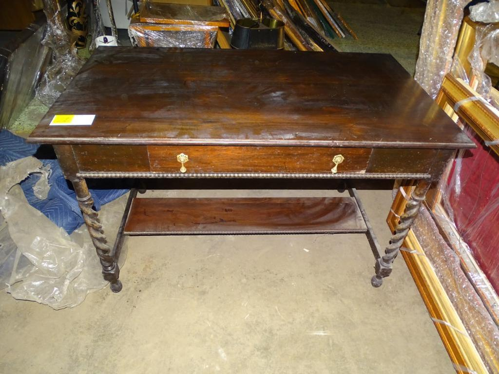 """Jacobean Style Table-46'' wide, 26"""" deep, 23"""" tall"""