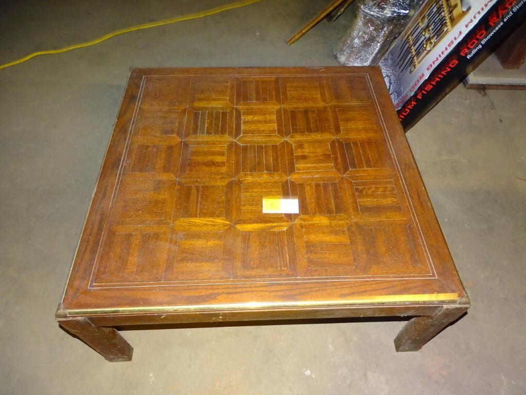 """Square Coffee Table-39"""" square, 16"""" high"""