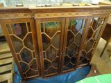 China Cabinet with Base. Top: 63