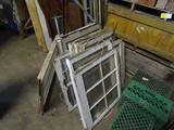 Vintage sash windows-various sizes