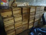 Wooden Produce Boxes-50+