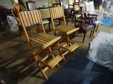 Wooden Deck Chairs-2