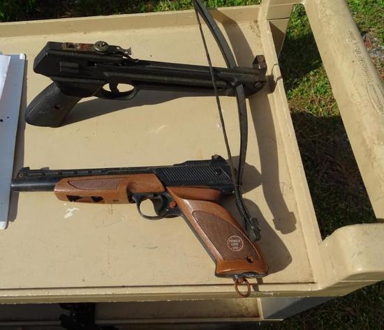 BB Gun-Powerline 1200 and Gun Cross bow