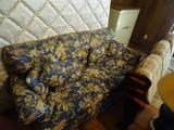 Floral Sofa with matching side chair