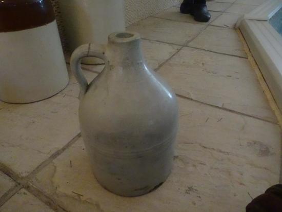 Whiskey Jug-1 GAL, Light gray/blue