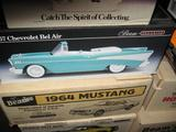 Beam's 1957 Chevy Bel Air Convertible decanter, sleek body.