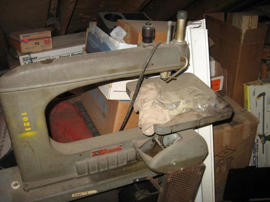 Everything in the Attic! Includes Scroll Saw, 4-8 TON Heavy Duty Jack Stands,